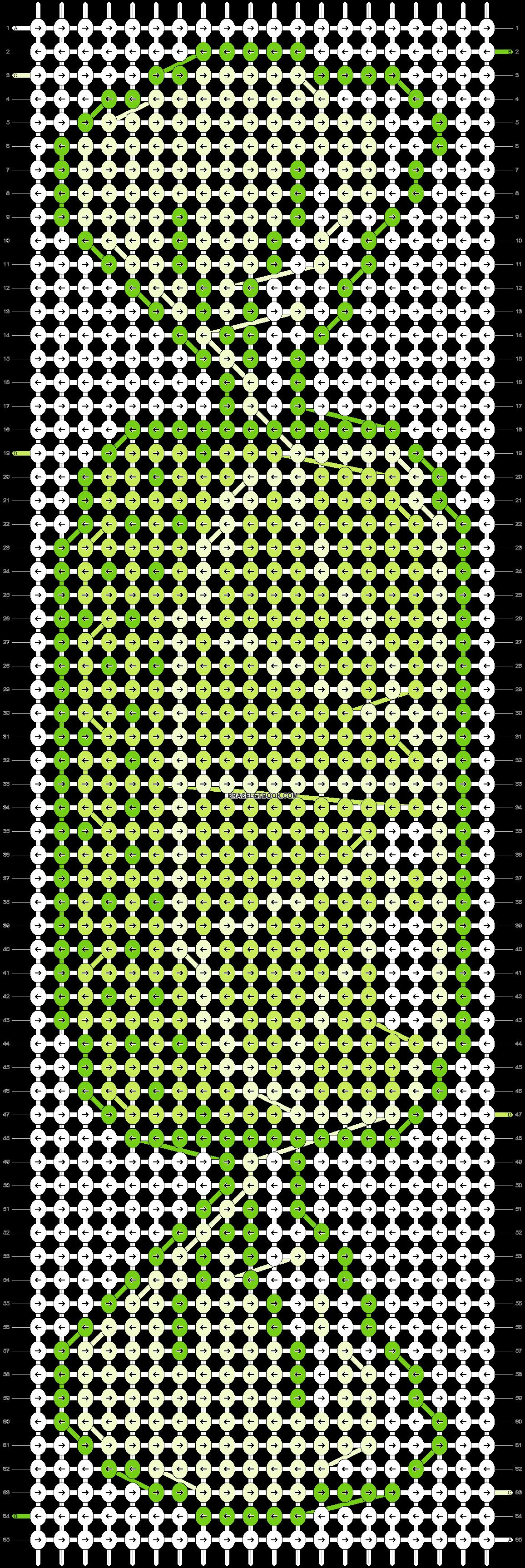Alpha pattern #19007 pattern