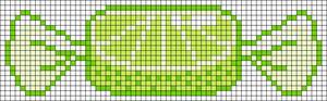 Alpha Friendship Bracelet Pattern #19007