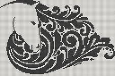 Alpha pattern #19010