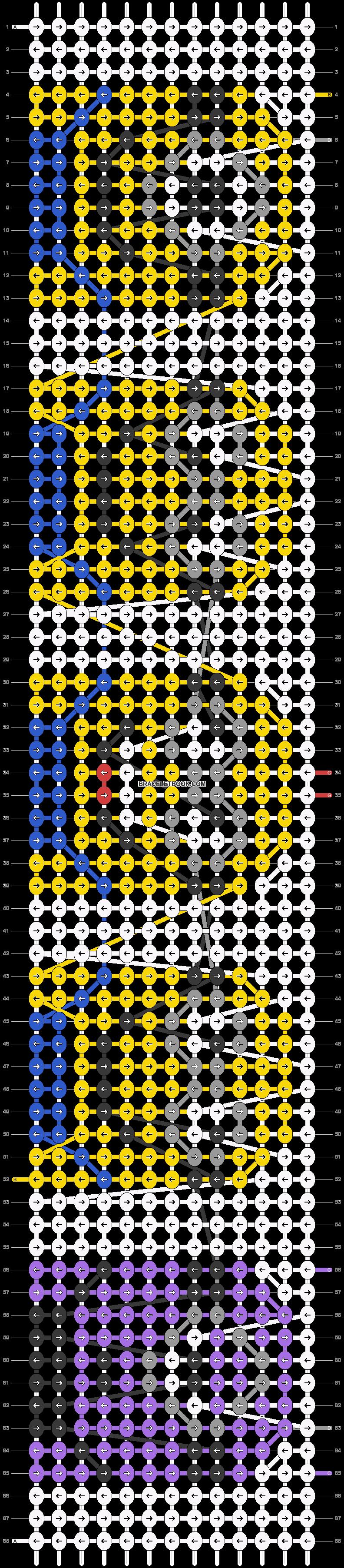 Alpha pattern #19015 pattern