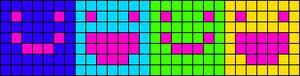 Alpha pattern #19016