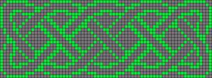Alpha Friendship Bracelet Pattern #19019