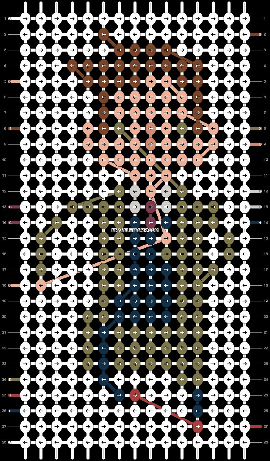 Alpha pattern #19023 pattern