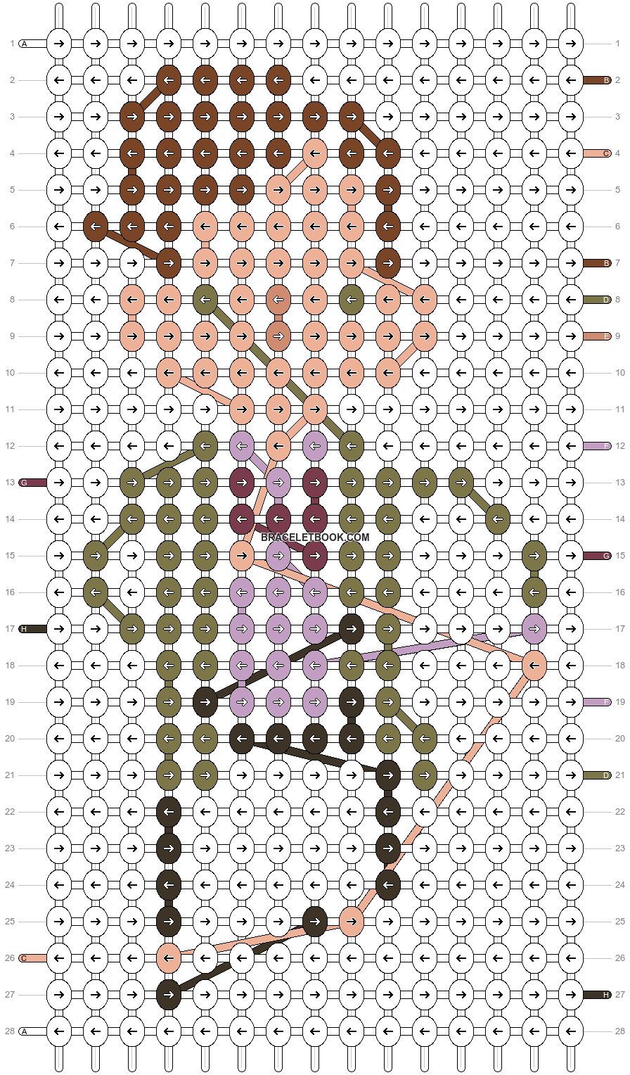 Alpha pattern #19024 pattern
