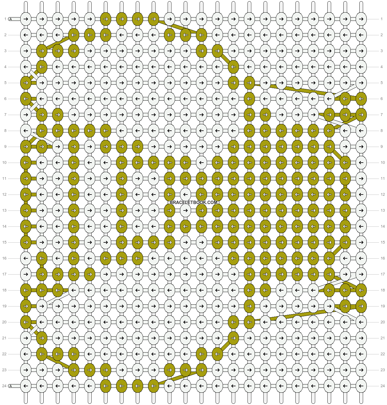 Alpha pattern #19027 pattern