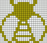 Alpha pattern #19027