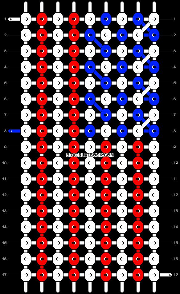 Alpha pattern #19038 pattern