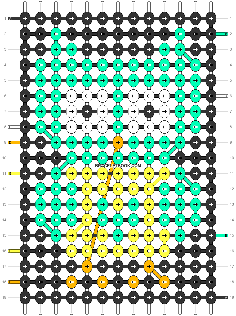 Alpha pattern #19039 pattern