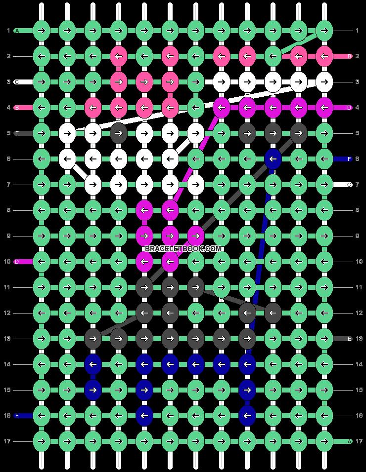 Alpha pattern #19048 pattern