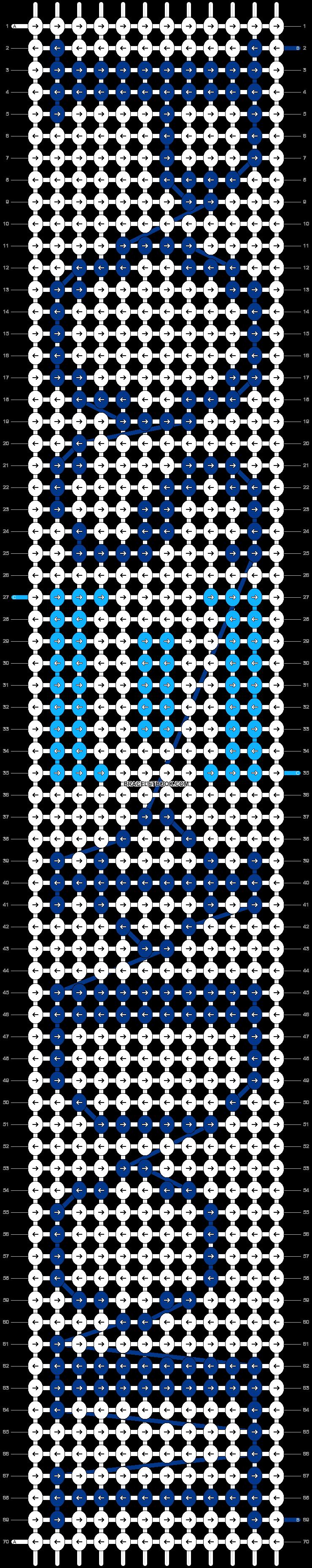 Alpha pattern #19049 pattern