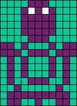 Alpha pattern #19054