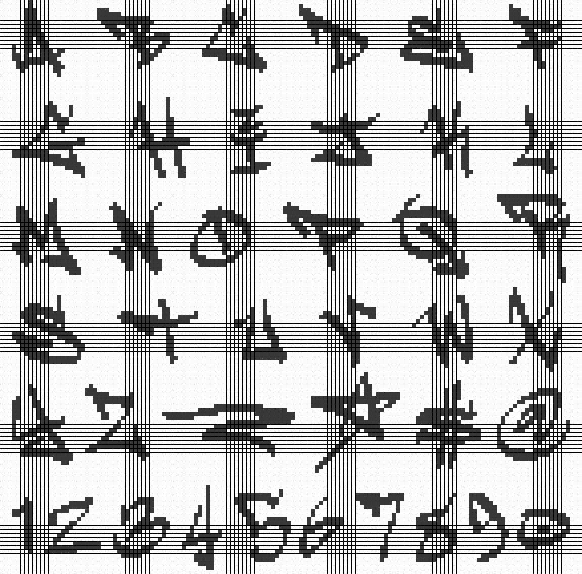 Alpha pattern #19055 preview