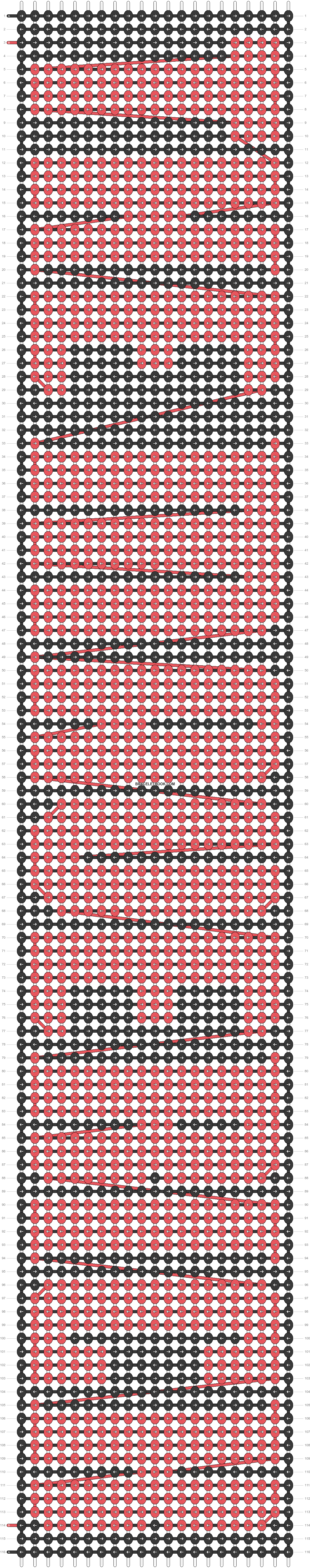 Alpha pattern #19061 pattern