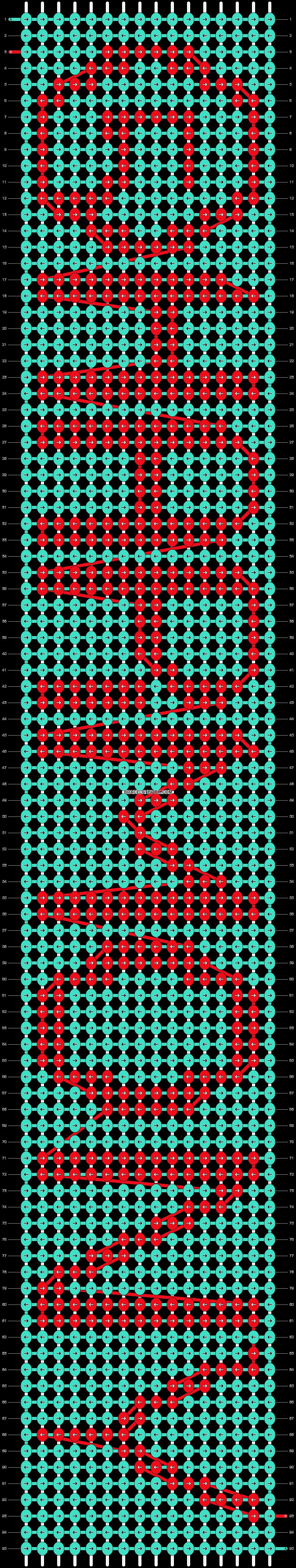 Alpha pattern #19067 pattern