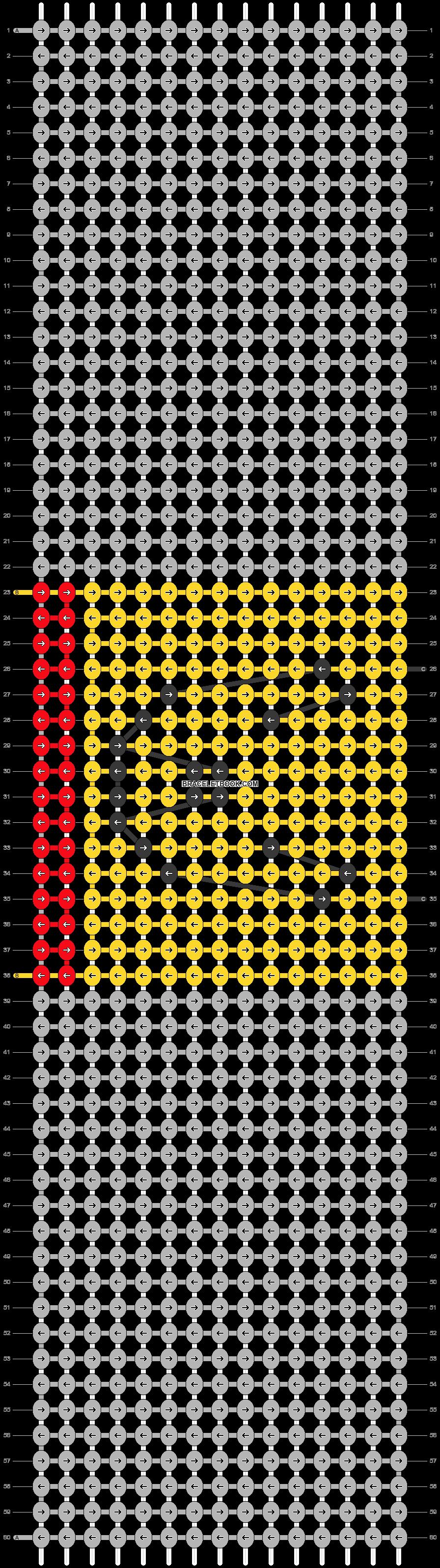 Alpha pattern #19068 pattern