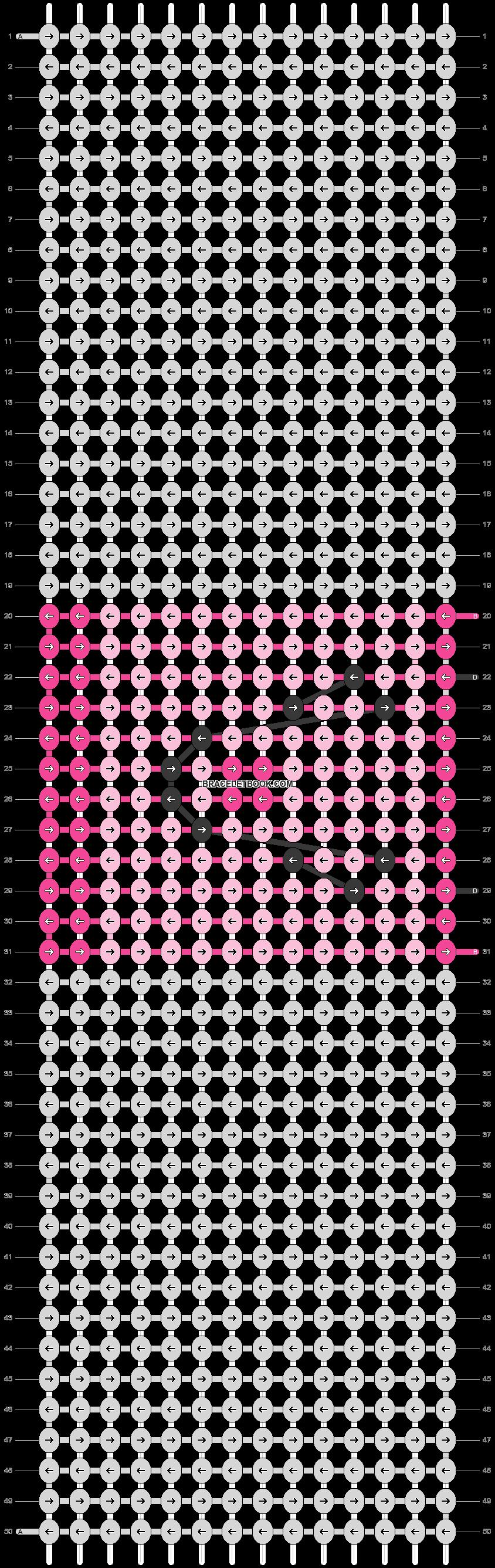 Alpha pattern #19069 pattern