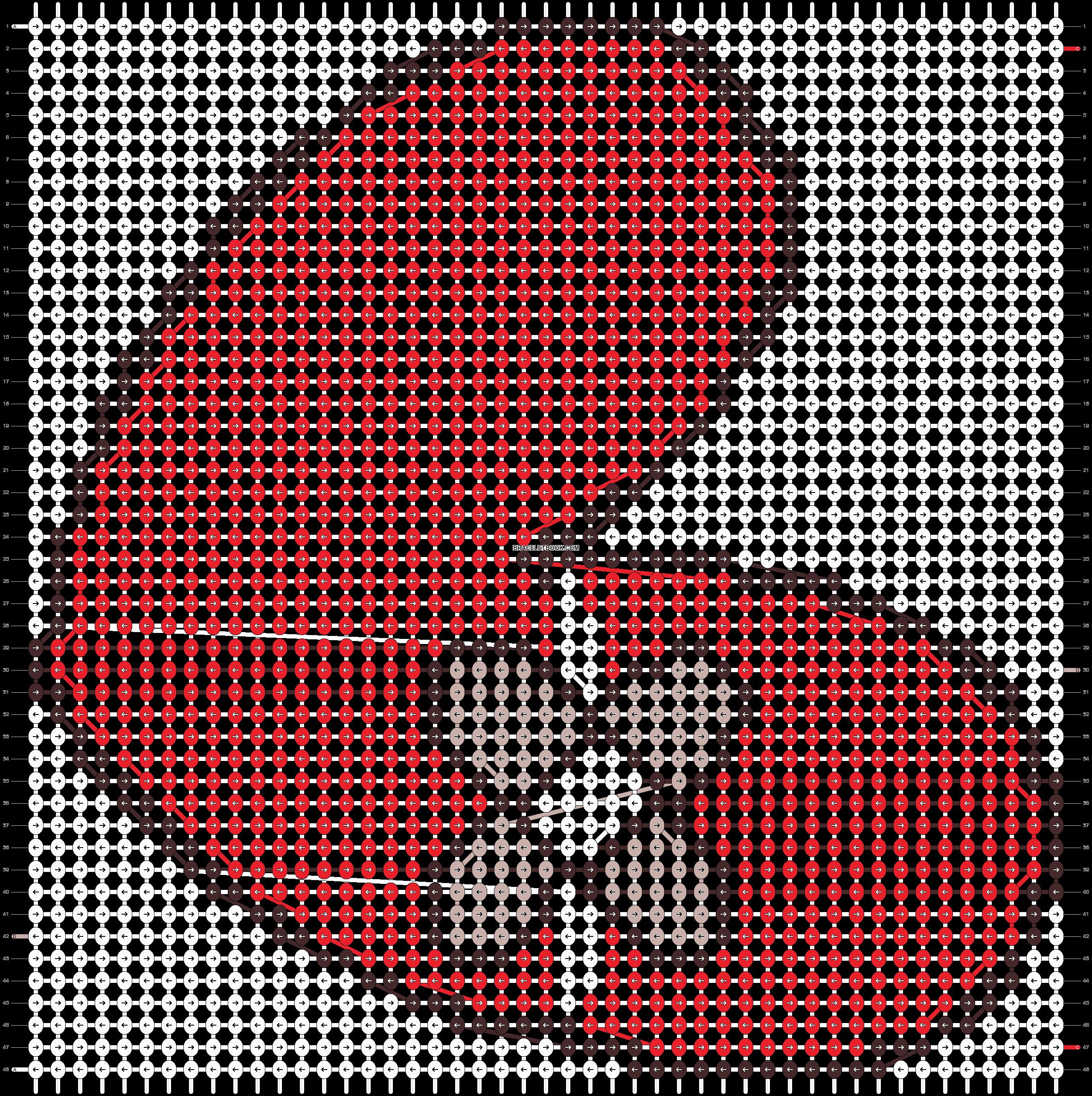 Alpha pattern #19075 pattern