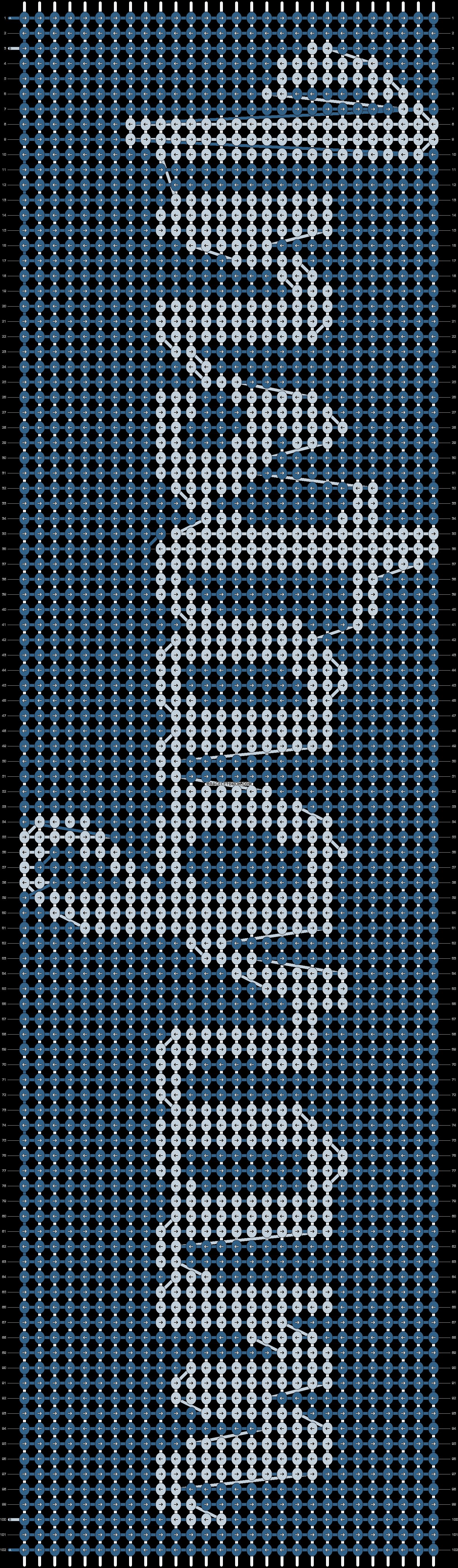 Alpha pattern #19079 pattern