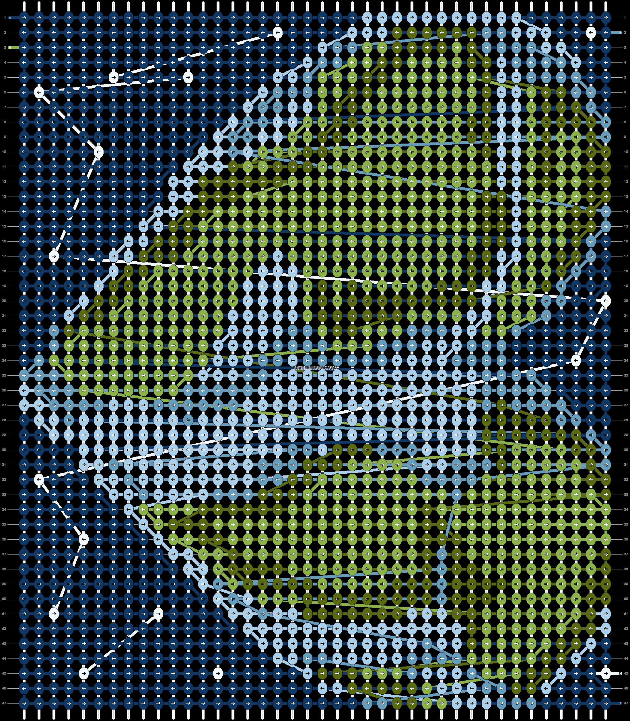 Alpha pattern #19093 pattern