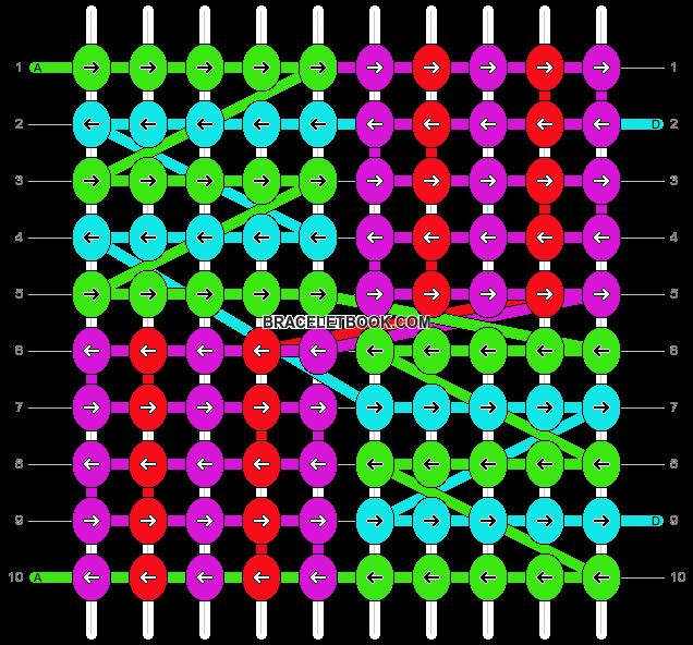 Alpha pattern #19097 pattern