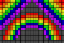 Alpha pattern #19100