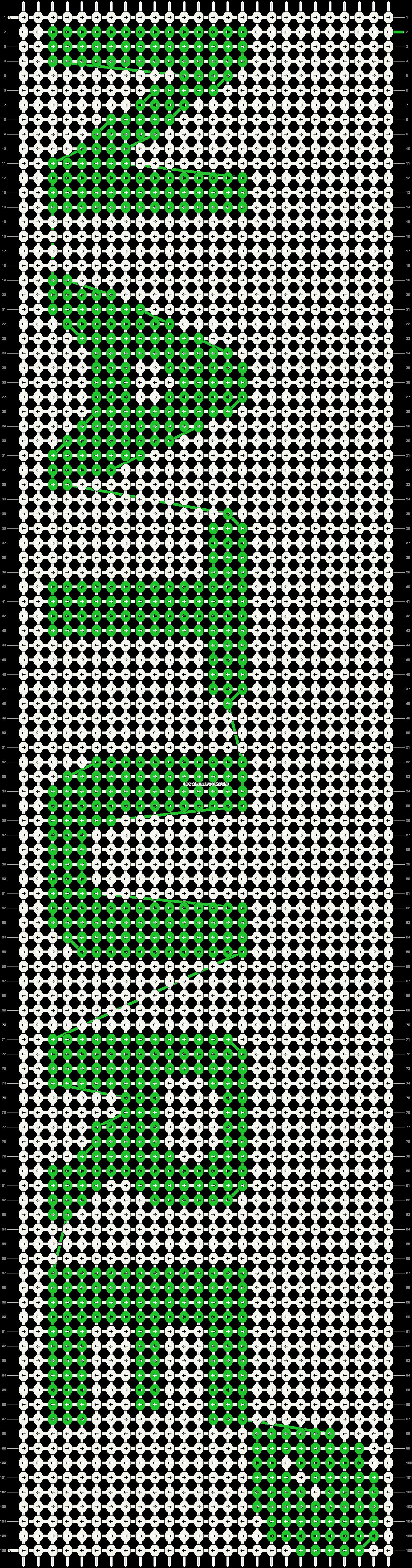 Alpha pattern #19103 pattern
