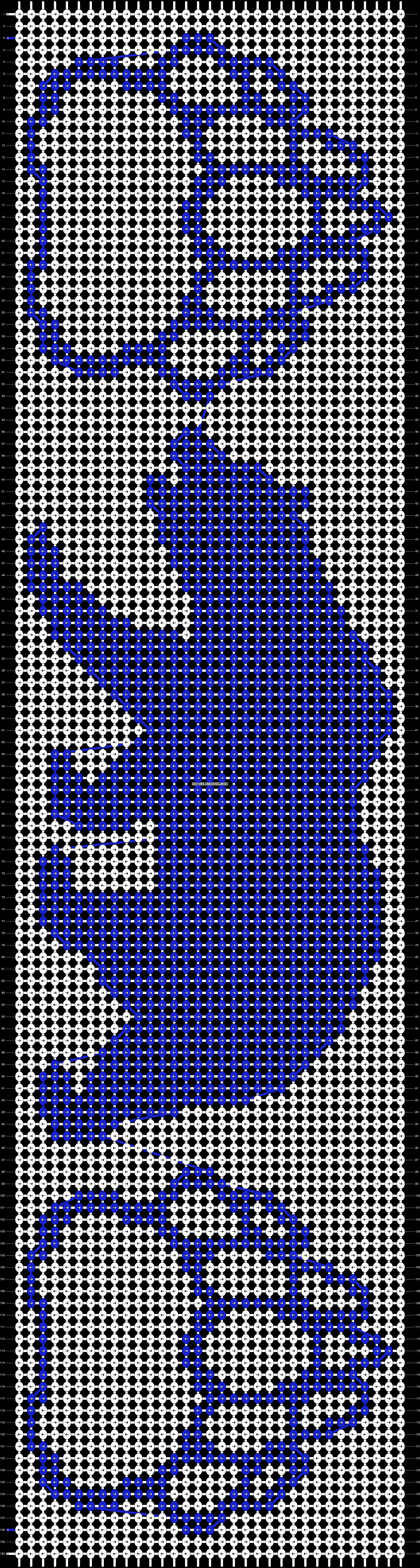 Alpha pattern #19105 pattern