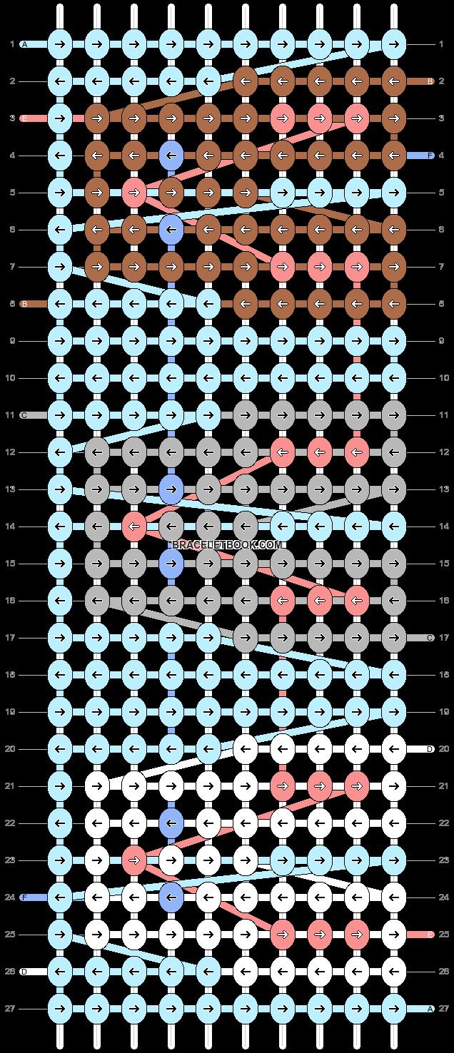 Alpha pattern #19106 pattern