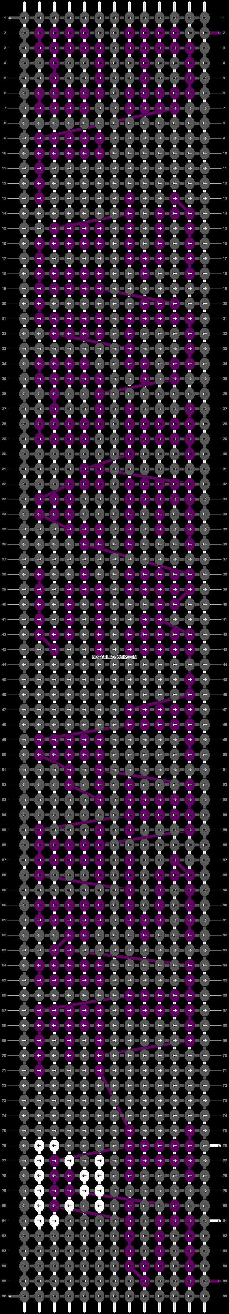 Alpha pattern #19114 pattern