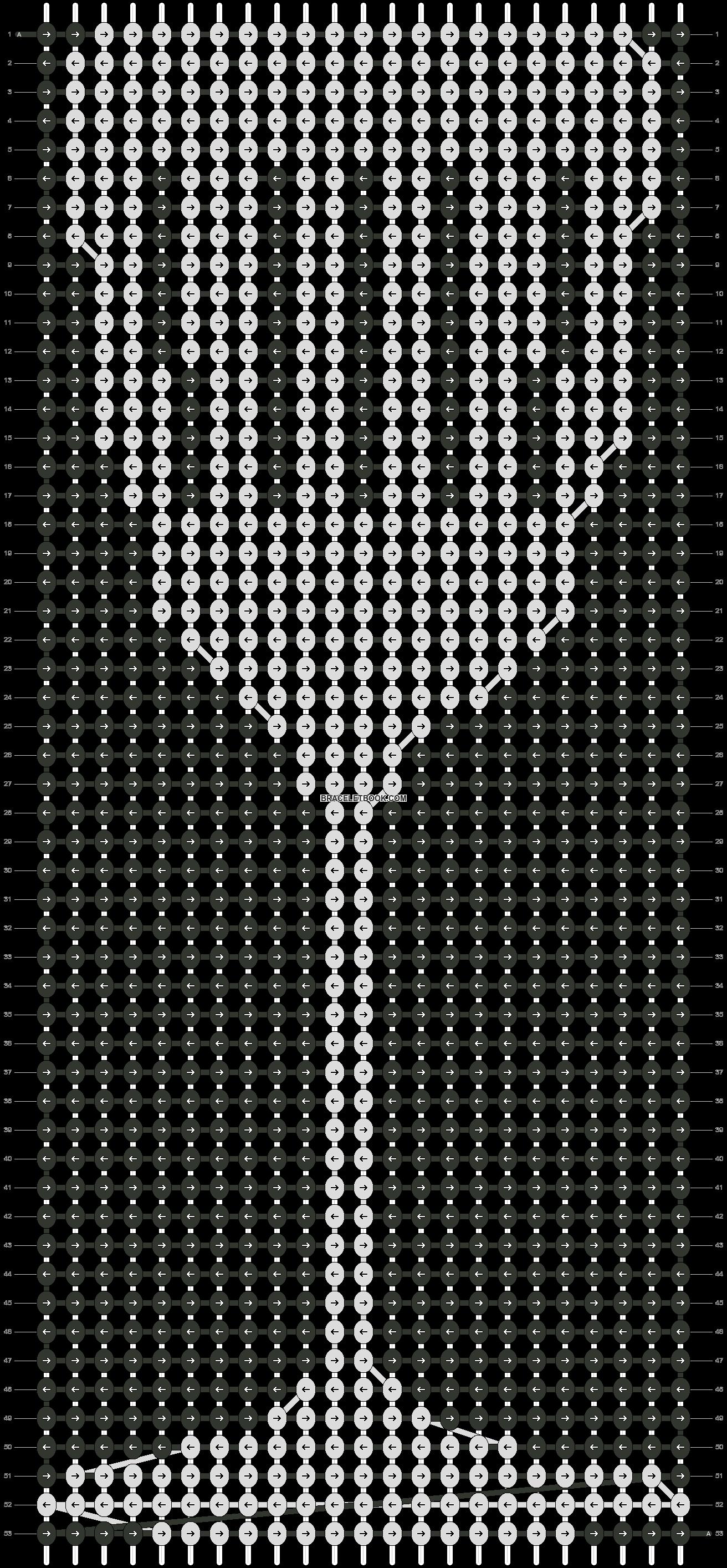 Alpha pattern #19117 pattern