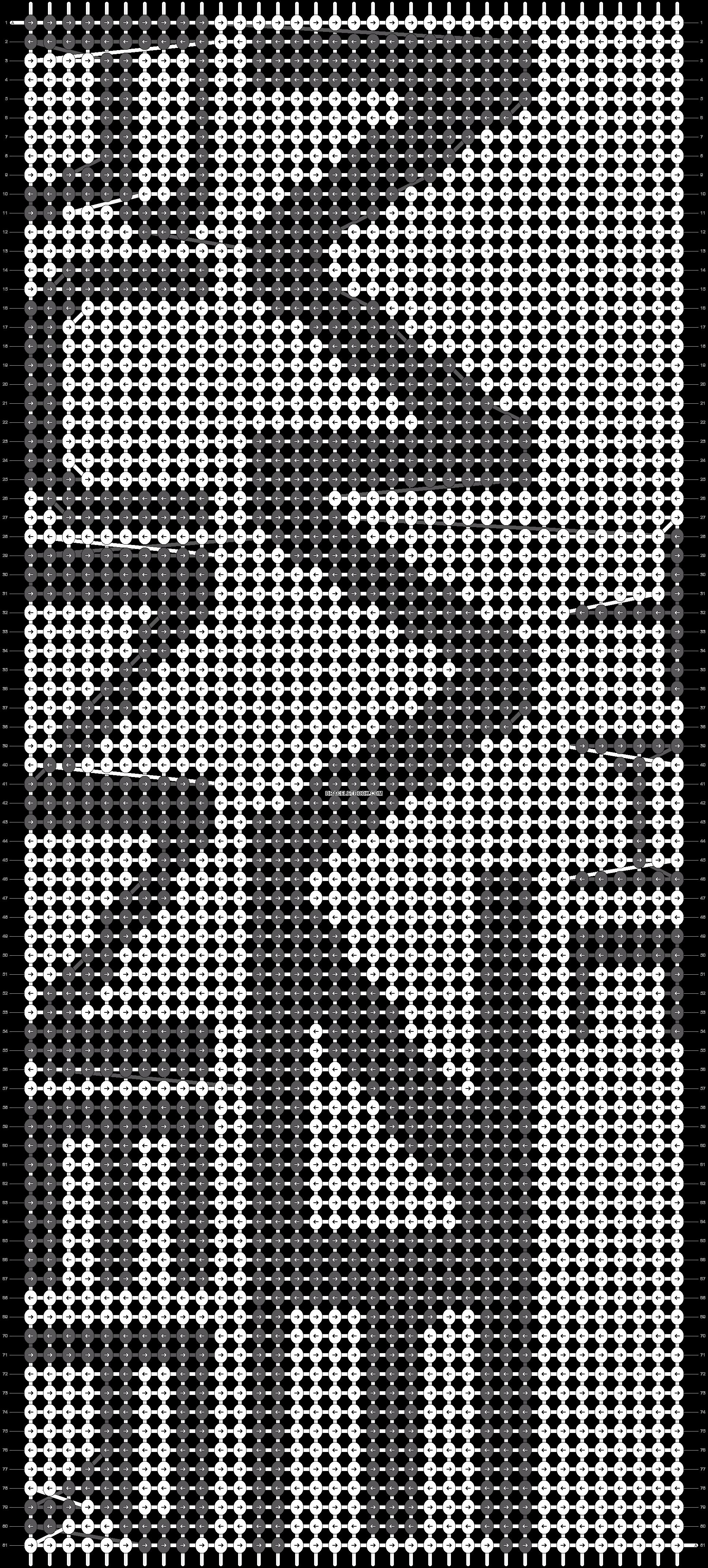 Alpha pattern #19118 pattern