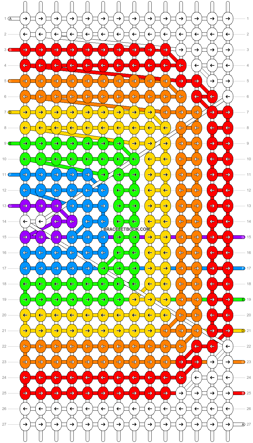 Alpha pattern #19119 pattern