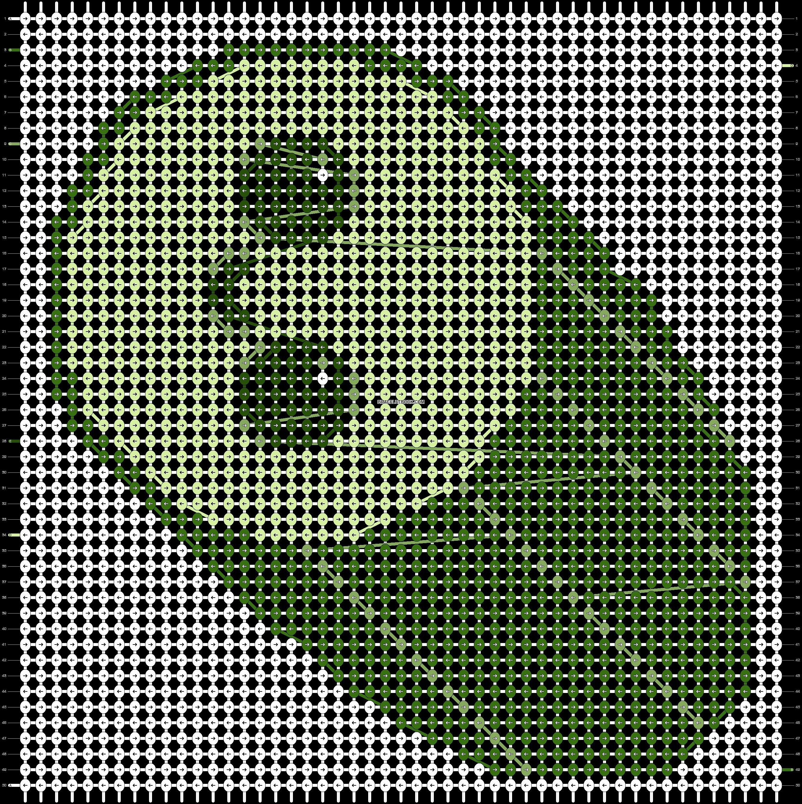 Alpha pattern #19130 pattern