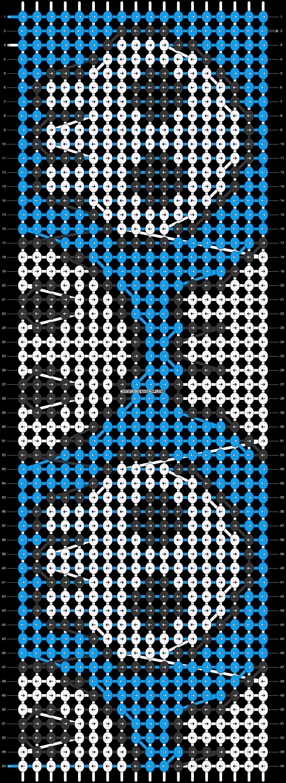 Alpha pattern #19134 pattern