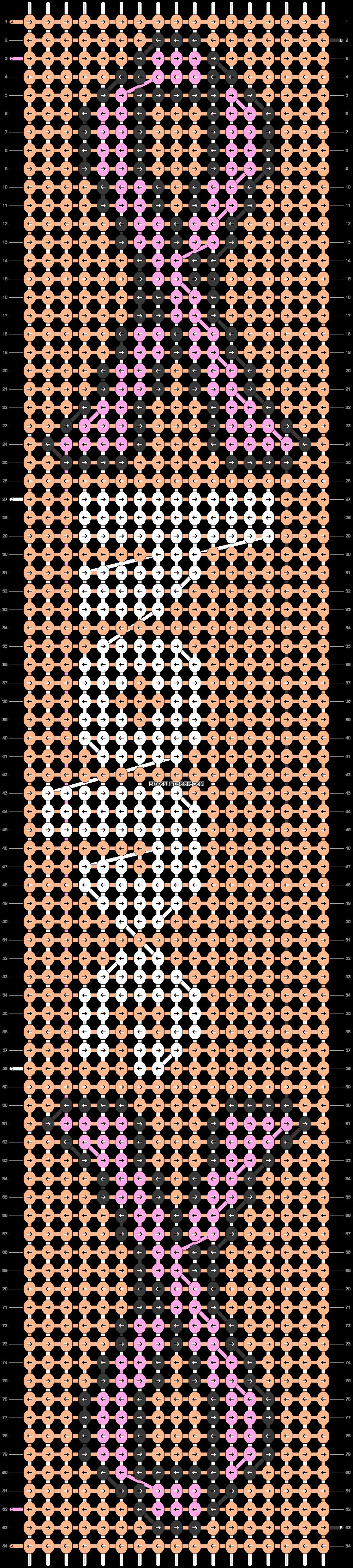 Alpha pattern #19135 pattern