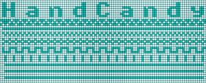 Alpha pattern #19136