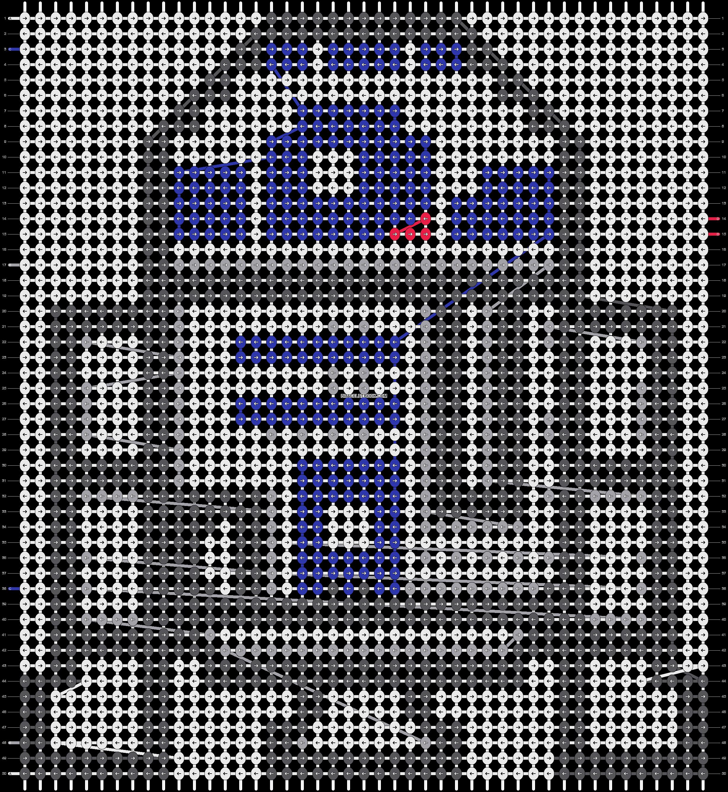Alpha pattern #19138 pattern