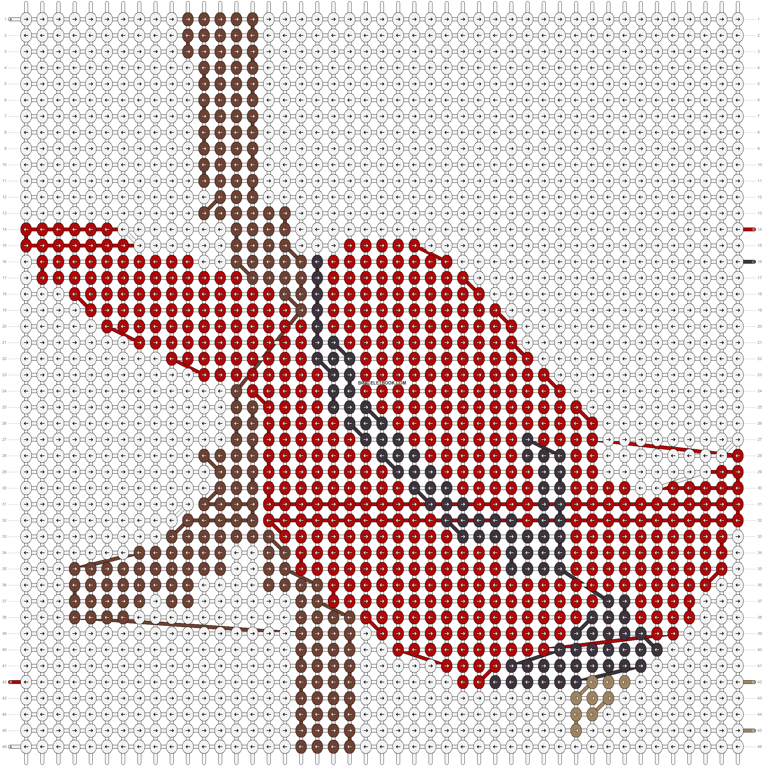 Alpha pattern #19140 pattern