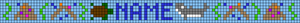 Alpha pattern #19143