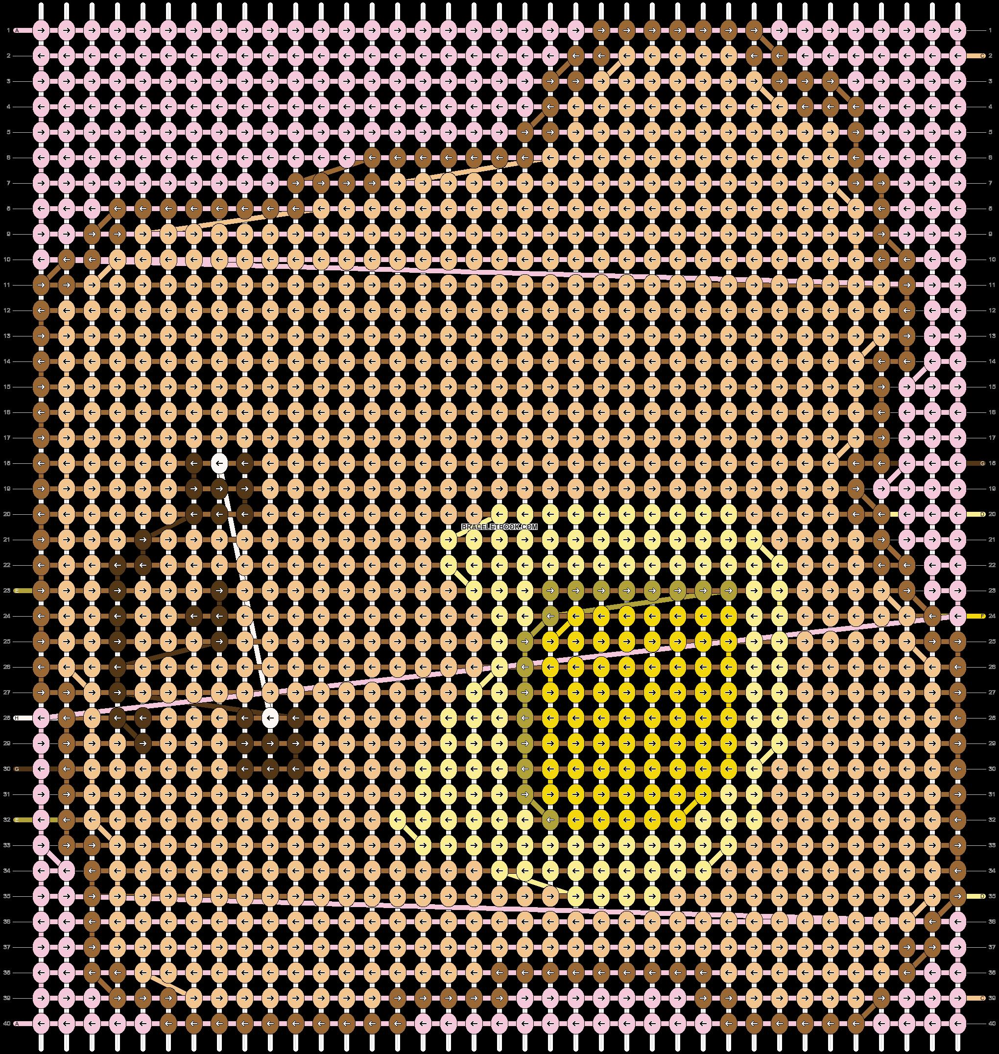 Alpha pattern #19144 pattern