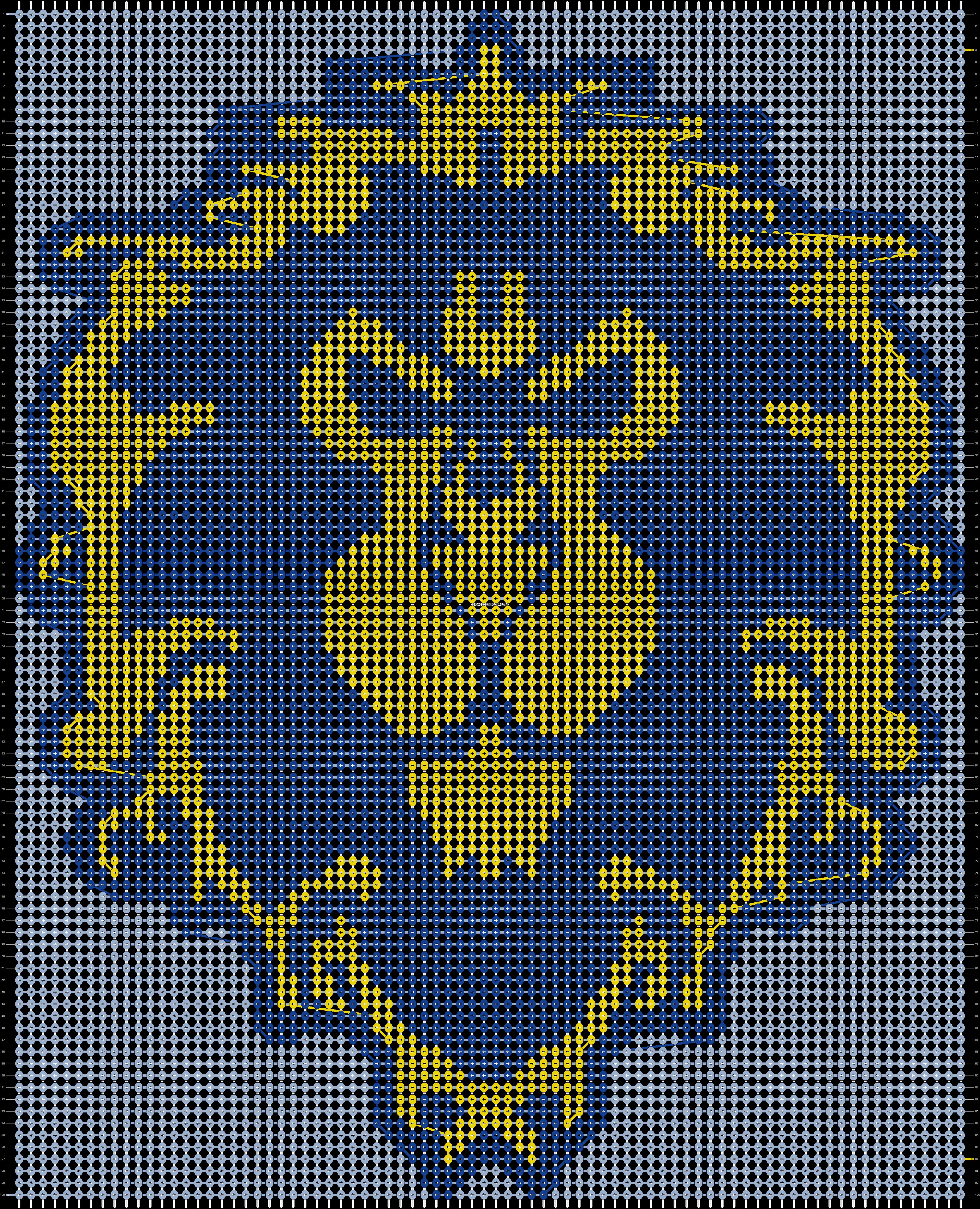Alpha pattern #19145 pattern