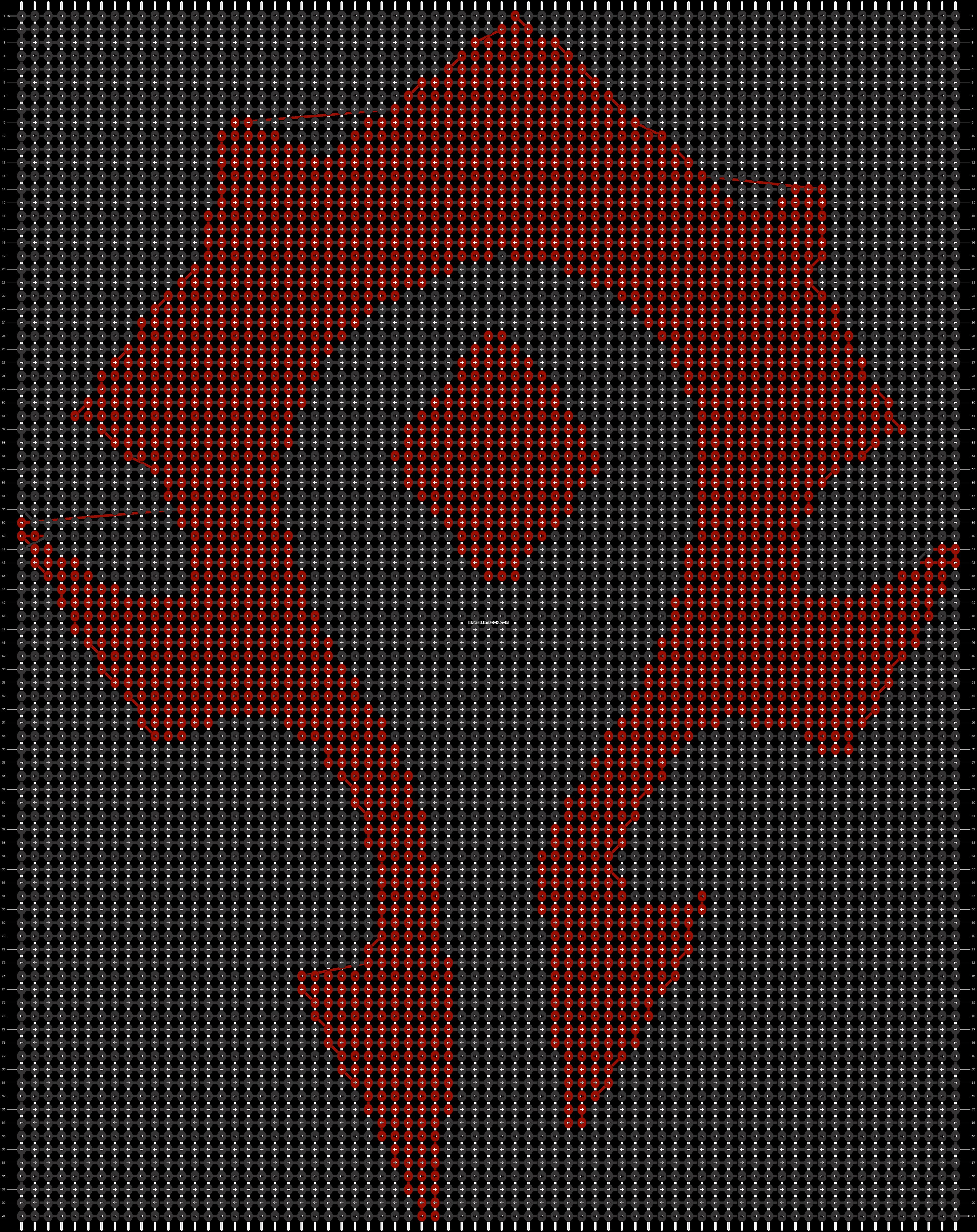Alpha pattern #19146 pattern
