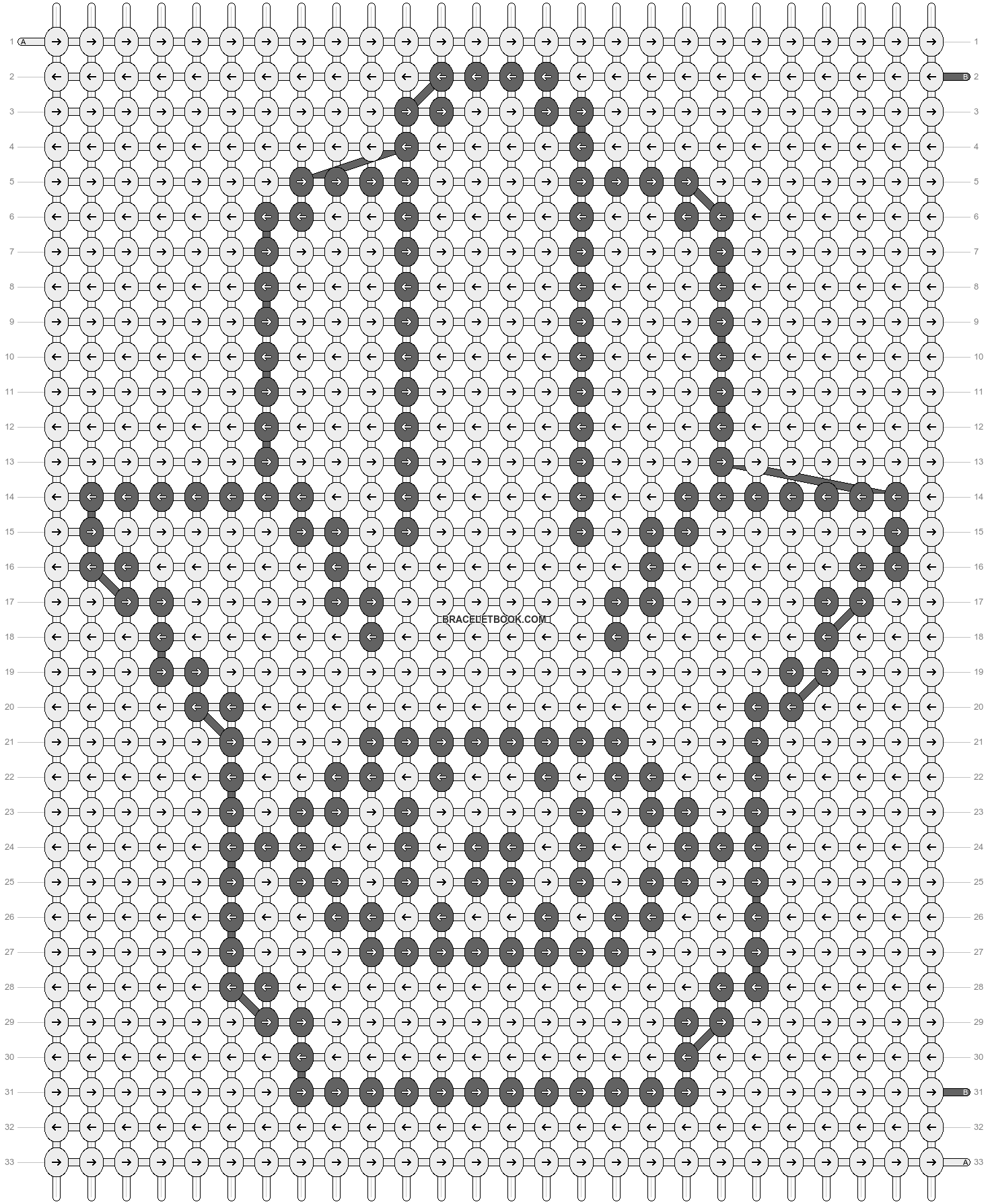 Alpha pattern #19155 pattern