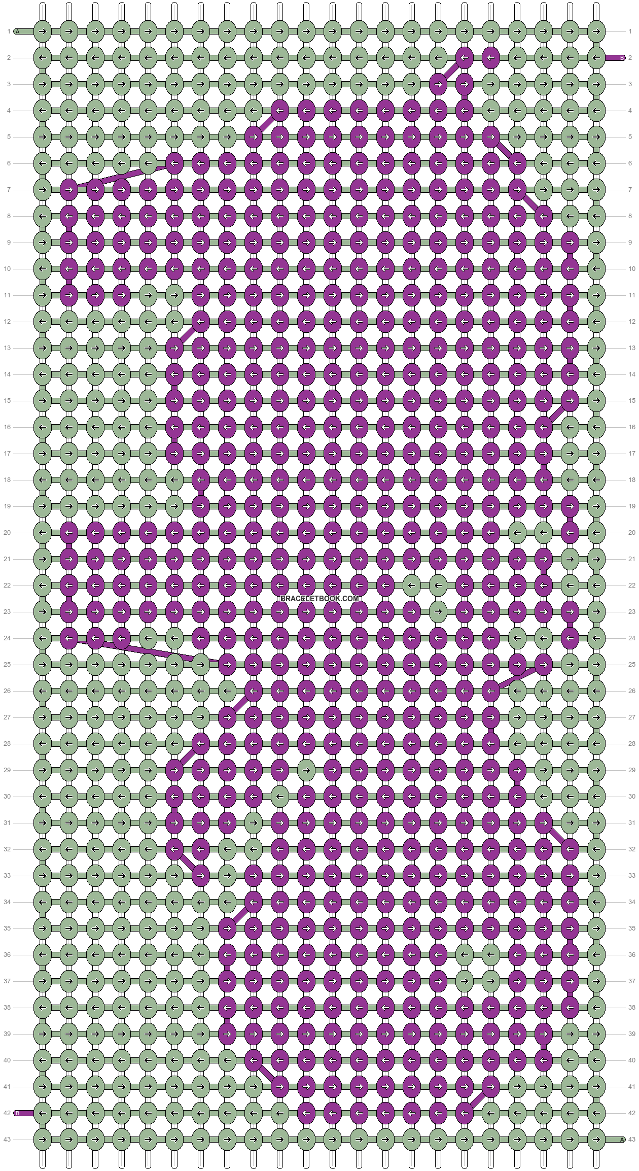 Alpha pattern #19160 pattern