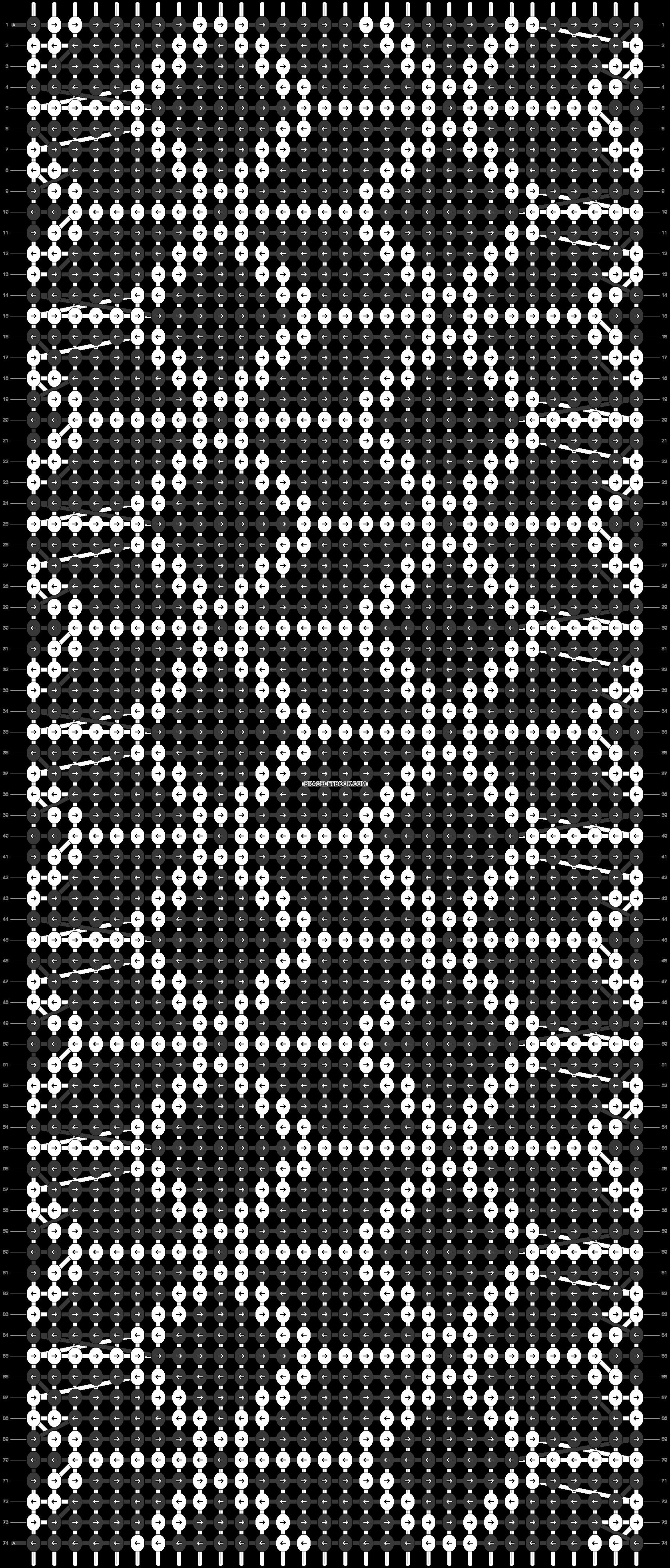 Alpha pattern #19162 pattern
