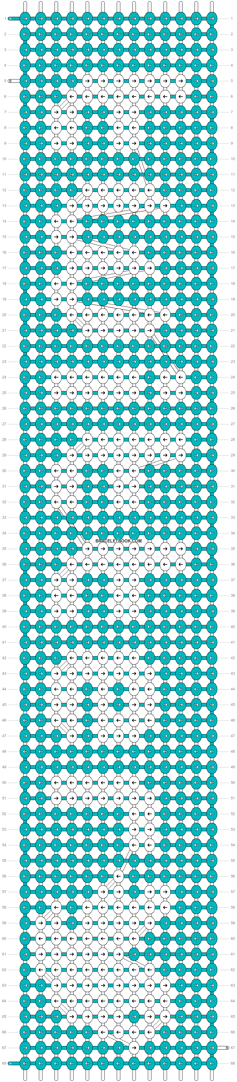 Alpha pattern #19181 pattern