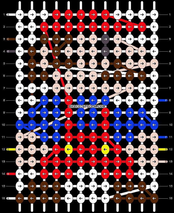 Alpha pattern #19182 pattern
