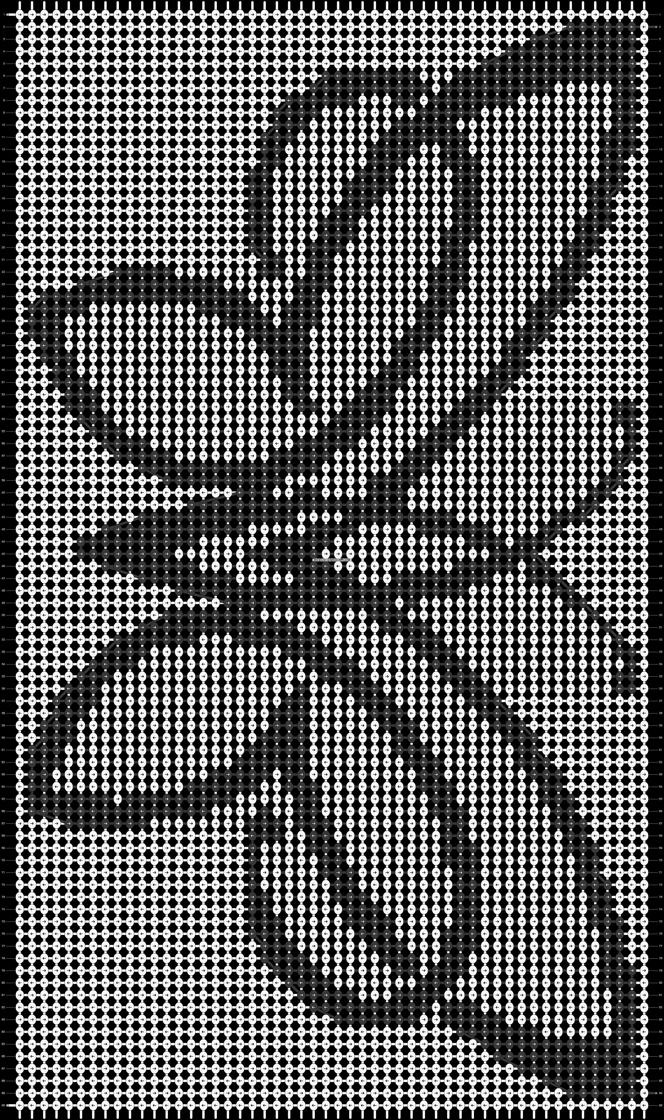 Alpha pattern #19193 pattern