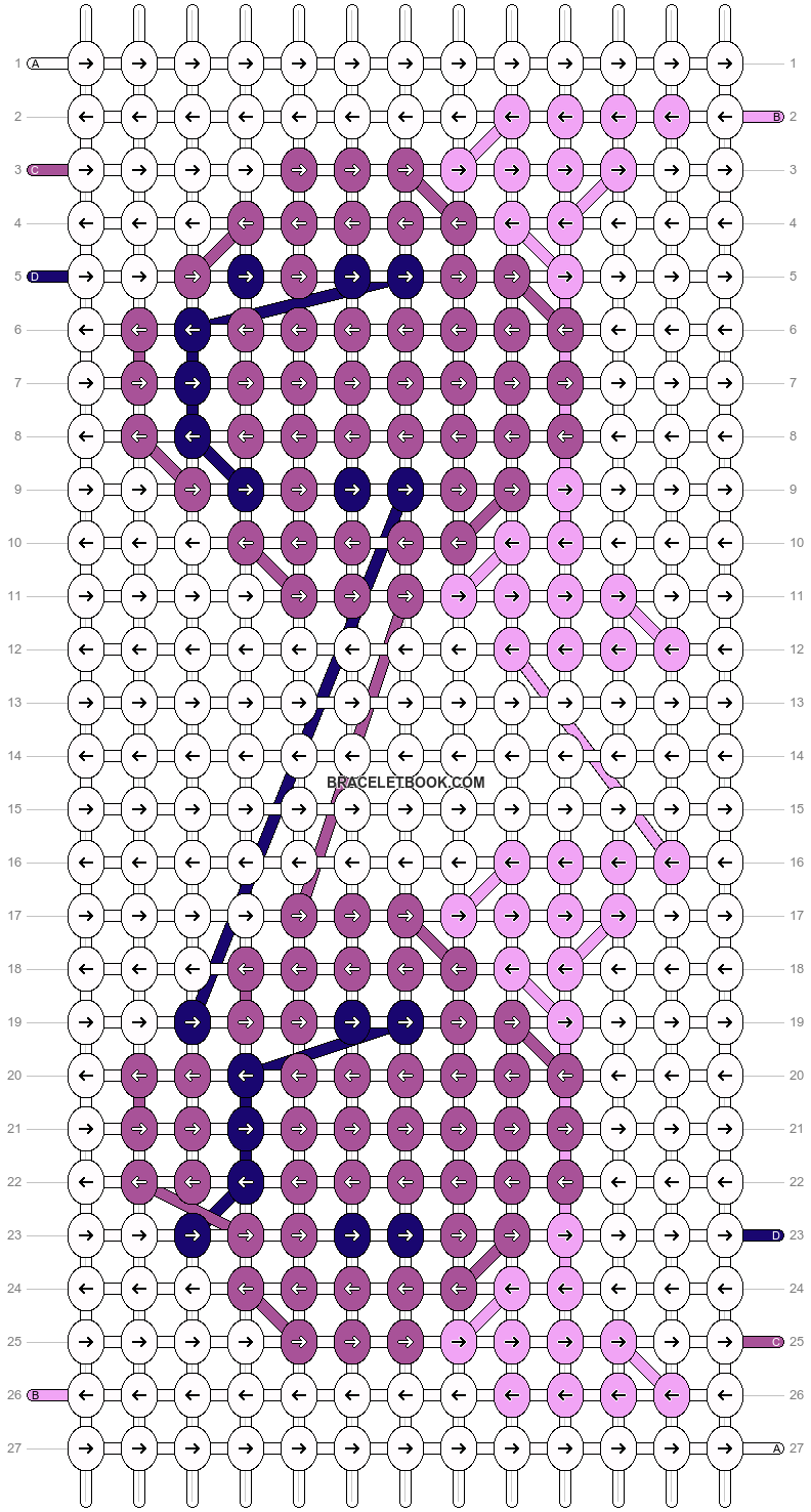 Alpha pattern #19207 pattern