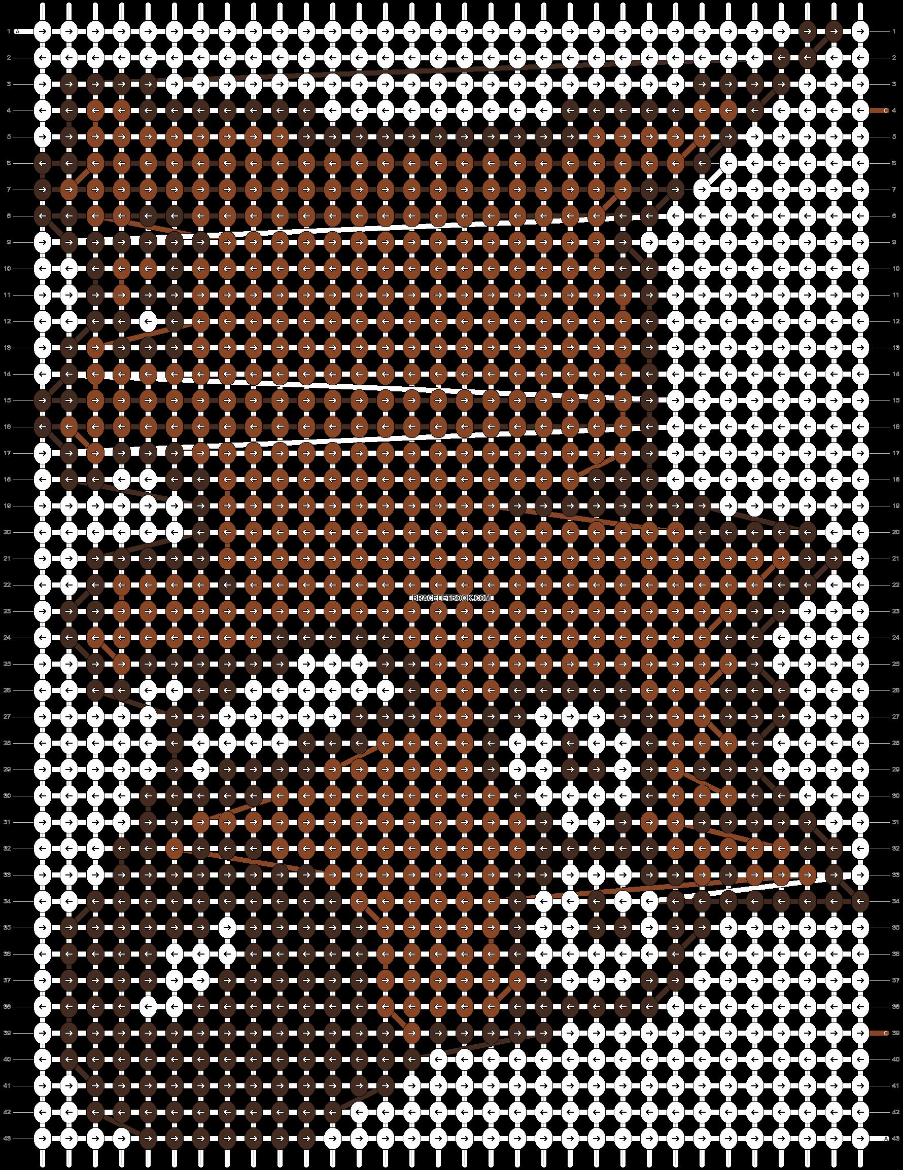 Alpha pattern #19214 pattern